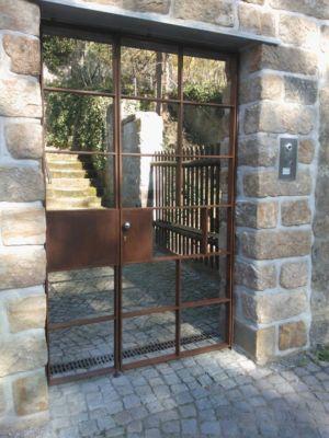 Corten-Eingangstor